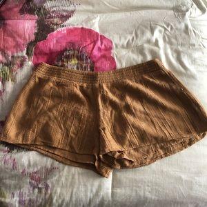 Tan O'Neill cotton shorts NWOT